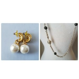 Banana Republic Fashion Necklace & Costume Earring